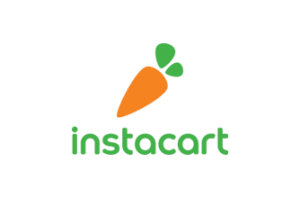 Instacart logo with carrot
