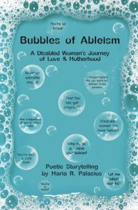 Front of cover of book titled Bubbles of Ableism