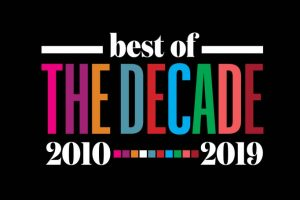 Image says best of the decade 2010 - 2019